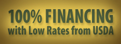 Pecan Lakes offers 100% Financing